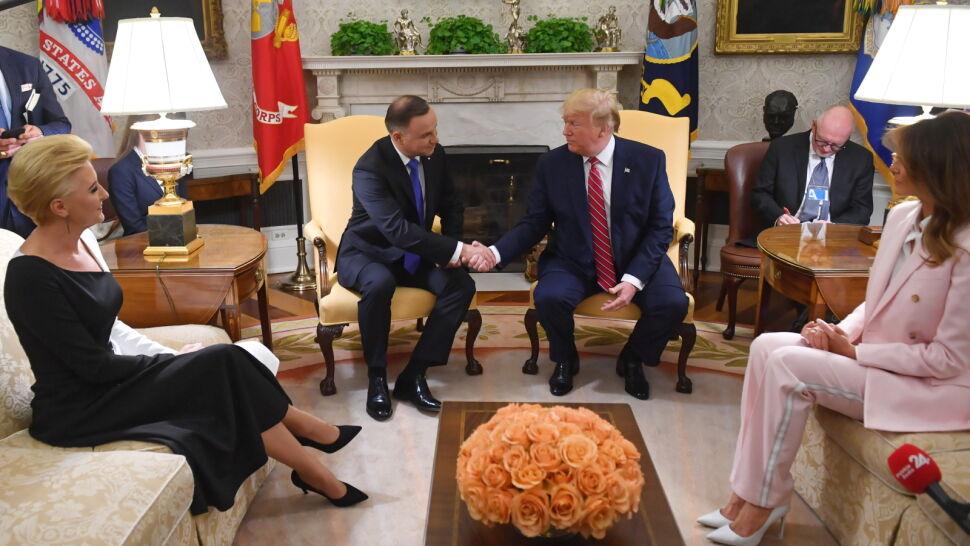Trump: nie niepokoi mnie stan demokracji w Polsce