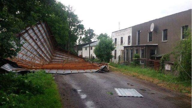 Gwałtowne burze przeszły przez Polskę