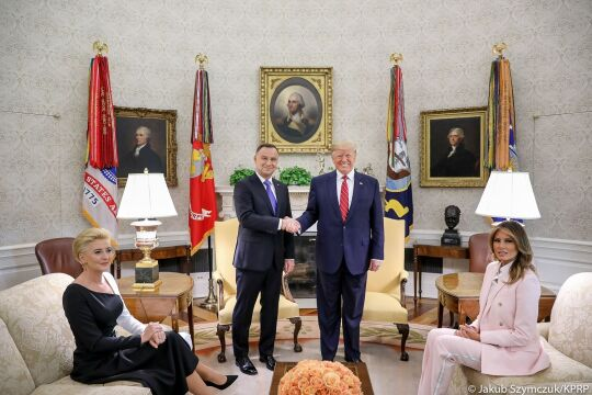 Wizyta Andrzej Dudy w Stanach Zjednoczonych