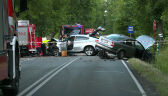 Jedna osoba nie żyje, trzy są ranne w wyniku wypadku w Wierzchowisku