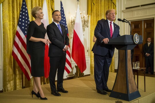 Prezydenci Polski i USA spotkali się w Białym Domu