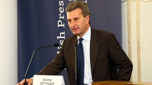 Guenther Oettinger za objęciem Polski nadzorem Komisji Europejskiej