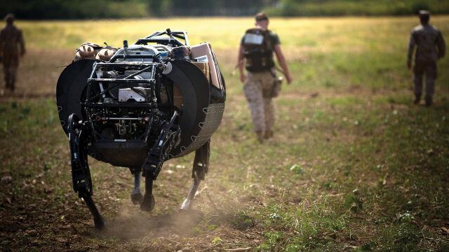 Robo-muł nie dołączy do żołnierzy. Jest za głośny
