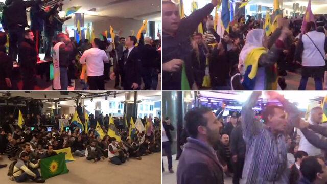 Kurdowie wdarli się do Parlamentu Europejskiego. Chcą, by Zachód zrobił więcej