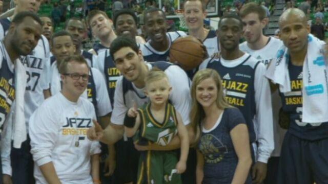 5-latek koszykarzem Utah Jazz. W NBA spełniają marzenia