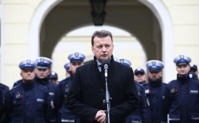 Błaszczak o decyzji sądu: opozycja sama sobie wydała świadectwo