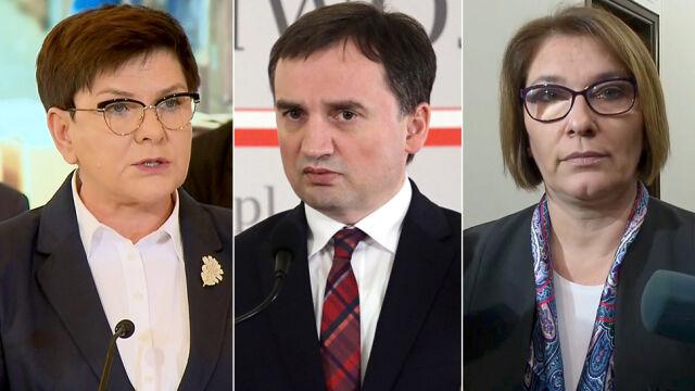 """""""Polska jest szykanowana"""",  """"trzeba podziękować politykom PO"""""""