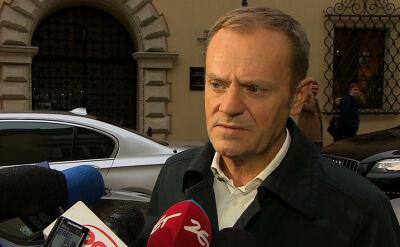 Tusk: trzeba zakończyć dewastację reputacji Polski