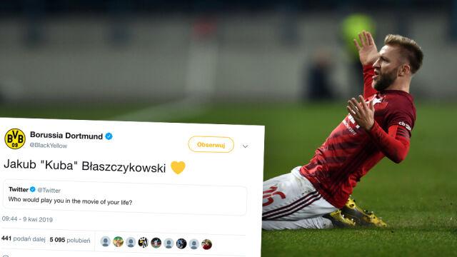 """""""Kuba"""" z żółtym serduszkiem, czyli Borussia pisze o Błaszczykowskim"""