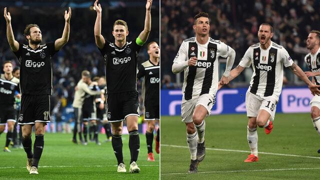 Ajax Amsterdam - Juventus. Kto awansuje do półfinału?
