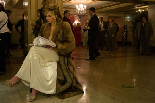 Na planie filmu -  Jennifer Lawrence
