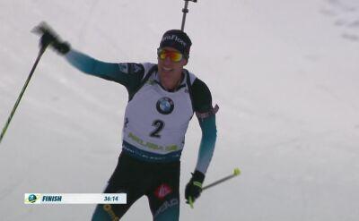 Fillon Maillet wygrał bieg ze startu wspólnego w Pokljuce