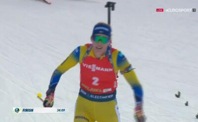 Oeberg wygrała bieg masowy w Pokljuce, Hojnisz 4.