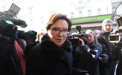 """Ewa Kopacz przed posiedzeniem zarządu PO """"cały problem nie dotyczy Senatu, ale dotyczy Sejmu"""""""