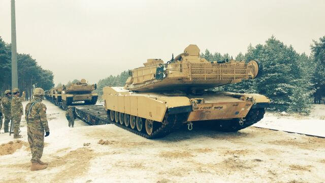 Pierwszy amerykański czołg już w Polsce