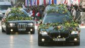 Jedne z najbardziej wstrząsających chwil. Żałobny kondukt na ulicach Warszawy