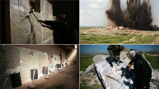 Dżihadyści niszczą kolejne starożytne miasto. Pokazali wideo