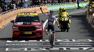 Kolejne słoweńskie zwycięstwo w Tour de France