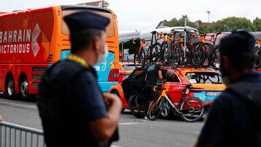 Policja przeszukała hotel i autokar jednej z grup kolarskich