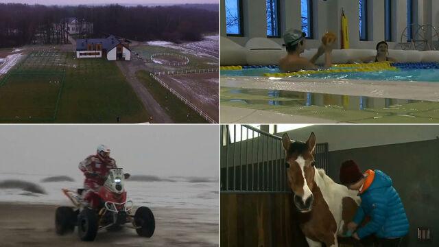 Dom dziecka jak dom marzeń. Z basenem, siłownią i stadniną koni