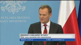 Premier: Nasze stanowisko nieprzemyślane, nie miałem racji