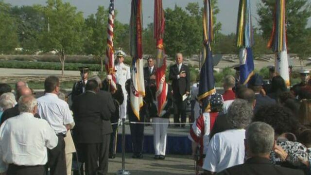 Uroczystości pod Pentagonem (Reuters)