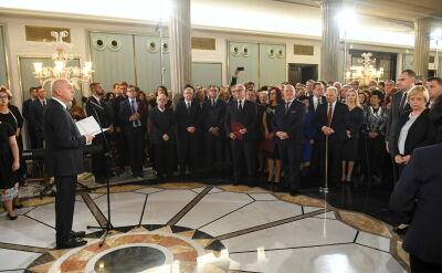 Państwowa Komisja Wyborcza wręczyła nowo wybranym posłom zaświadczenia o wyborze
