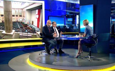 """Ryszard Kalisz w """"Faktach po Faktach"""" o odmowie wszczęcia śledztwa w sprawie """"wież Kaczyńskiego"""""""