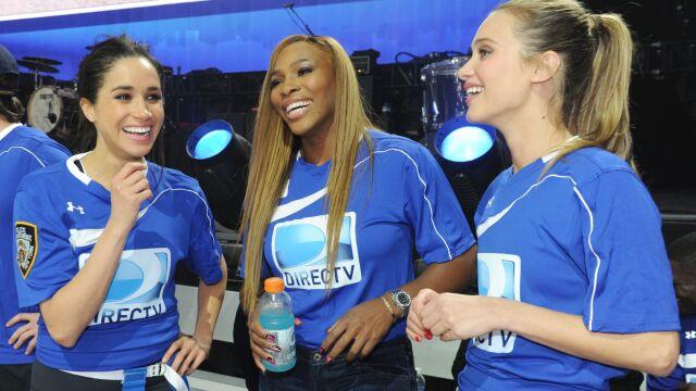 """Serena Williams wspiera Meghan Markle. """"Jej słowa odzwierciedlają ból i okrucieństwo"""""""