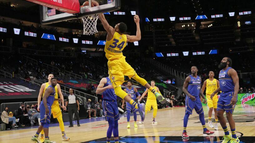 Grek zachwycił w Meczu Gwiazd NBA. Pierwszy taki występ w historii