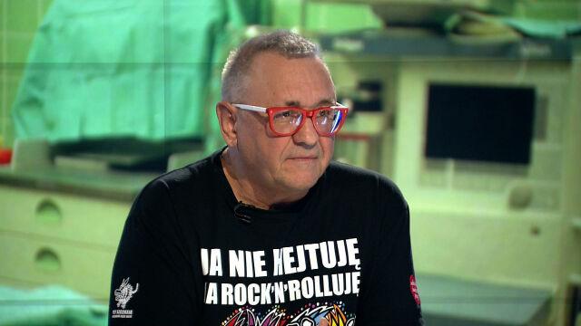 """Jerzy Owsiak w """"Faktach po Faktach"""". Cała rozmowa"""