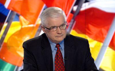 Cimoszewicz: jestem gotów do debaty z Kaczyńskim na temat Europy