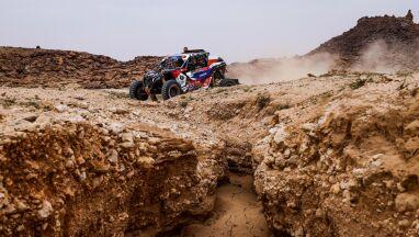 Podium Goczała i Gospodarczyka na siódmym etapie Rajdu Dakar