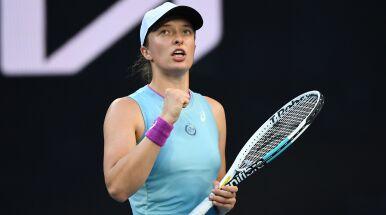 Plan transmisji 5. dnia Australian Open. Świątek w akcji