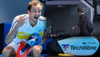 Wściekłość rosyjskiego tenisisty, jego trener miał dość.