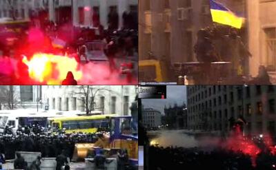 Starcia przed pałacem Wiktora Janukowycza