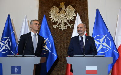 Szef NATO przed szczytem w Warszawie