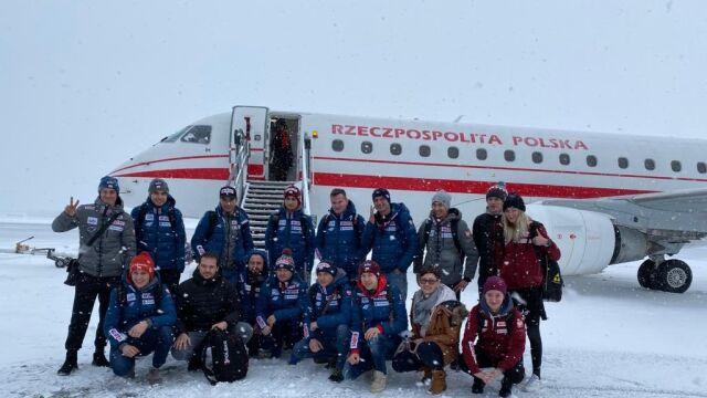 Z Trondheim prezydenckim samolotem. Polscy skoczkowie już w kraju