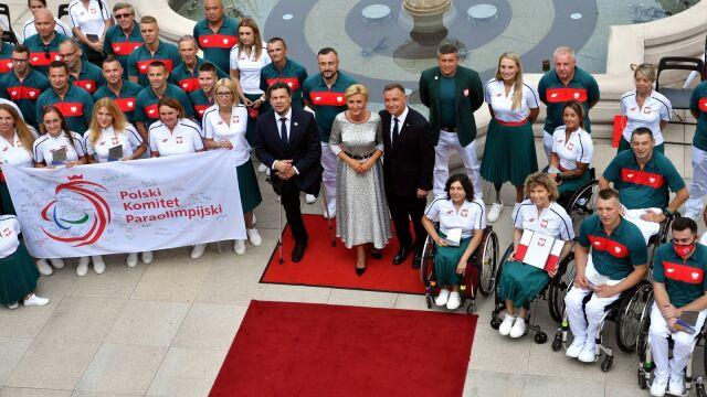 Prezydent wręczył nominacje paraolimpijczykom