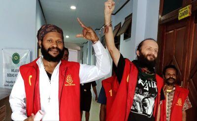 Polak oskarżony o związku z separatystami w Indonezji