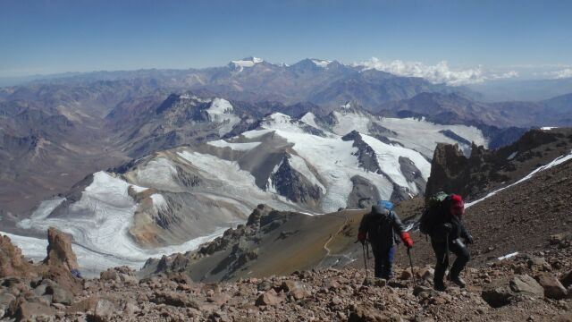 She won the highest peak in South America, now is the time for North America. For hospice