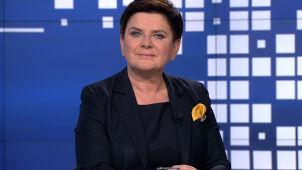 Beata Szydło i Sławomir Broniarz w