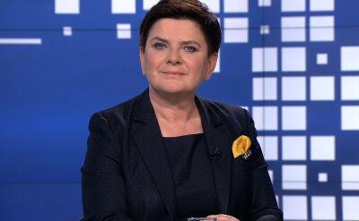 """Beata Szydło i Sławomir Broniarz w """"Faktach po Faktach"""". Cała rozmowa"""