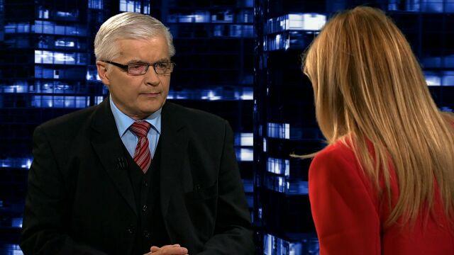 """Włodzimierz Cimoszewicz w """"Kropce nad i"""""""