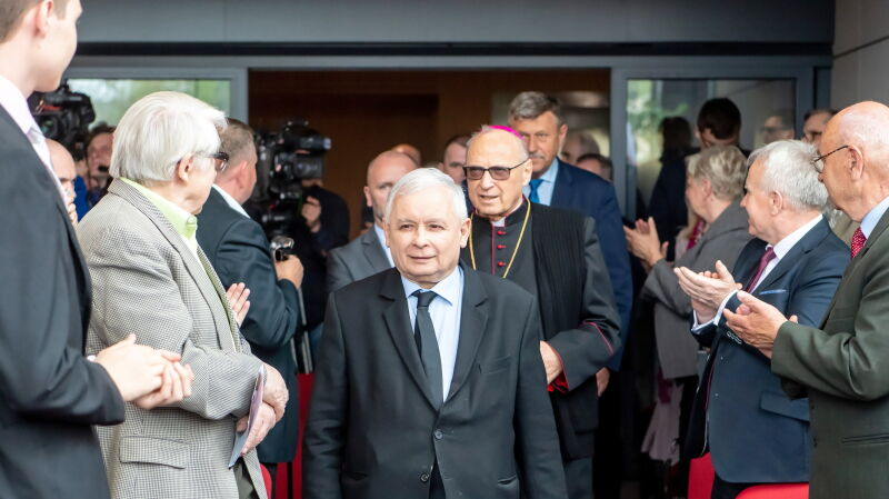 """Kaczyński wygłosił przemówienie na konferencji """"Być Polakiem - duma i powinność"""""""