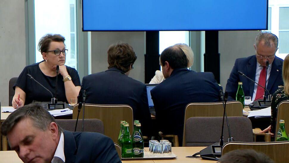 Po głosowaniu w komisji. Decyzja w sprawie wotum nieufności wobec Zalewskiej