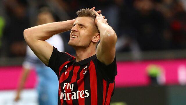 Milan wyrzucony z pucharów. Klub Krzysztofa Piątka ukarany