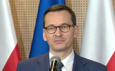 Premier Morawiecki o okrągłym stole