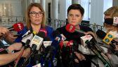 Beata Mazurek: będziemy procedować tę ustawę do końca