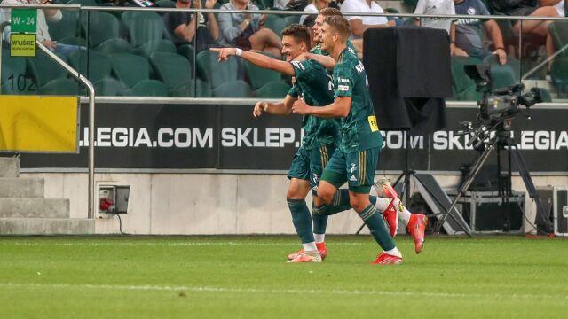 Rezerwowa Legia zwycięża u siebie po pięknym golu